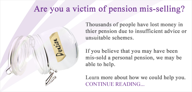 Whitehall Randall & Associates - Lost Investments - Pension Banner Image